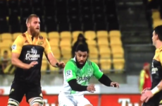 Lima Sopoaga just pulled off one of the most ridiculous skills you'll see on a rugby field