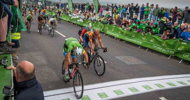 Huge crowds welcome the Rás into Dungarvan as Gate wins dramatic sprint finish