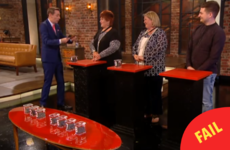 The never-ending quiz on the Late Late Show last night had everyone in stitches