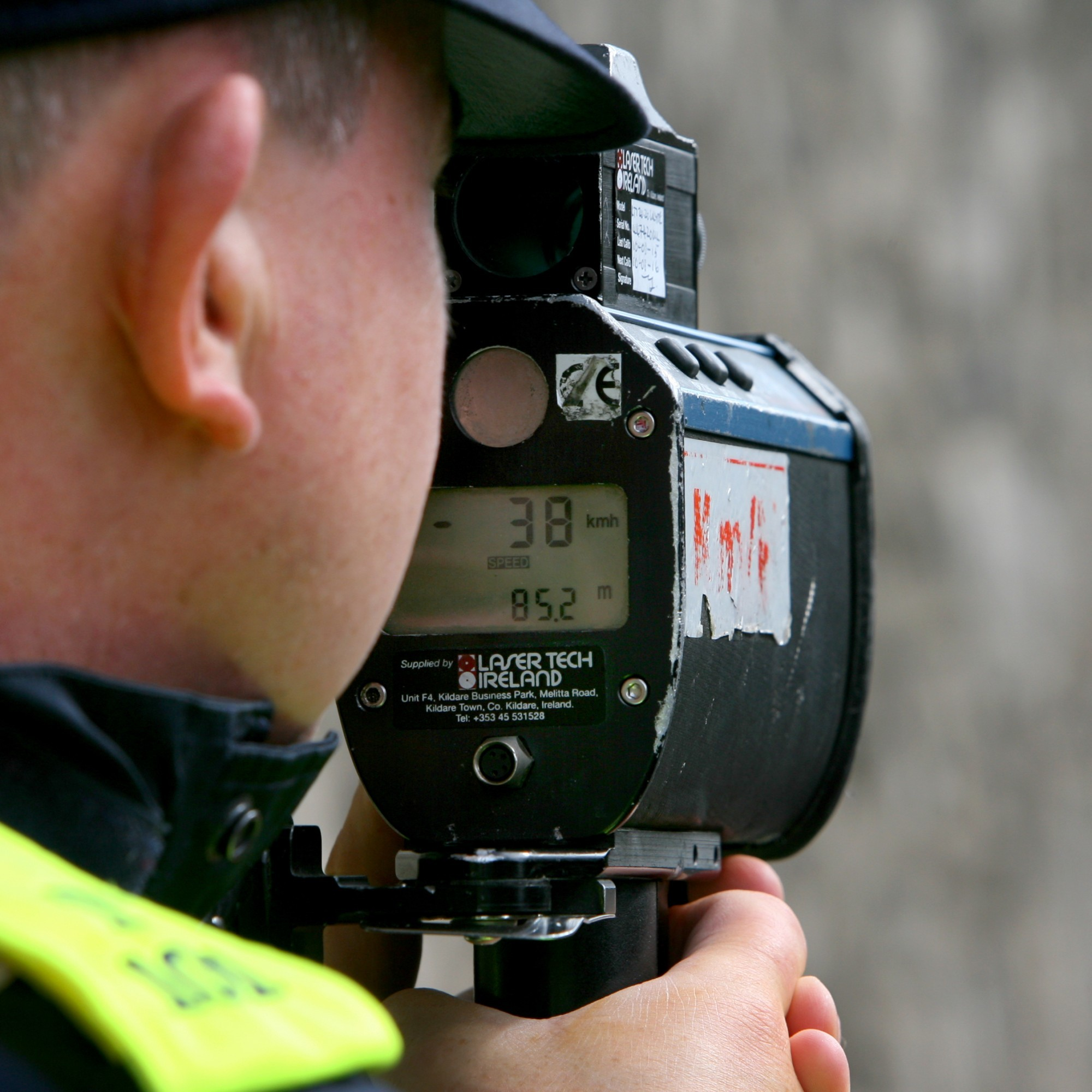 Someone was caught doing 61km/hr over the legal limit yesterday