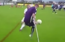 Man City amputee footballer scores spectacular solo goal after leaving his marker for dead