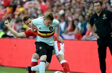 De Bruyne produces moment of magic as Ireland's Euro 2016 opponents claim victory