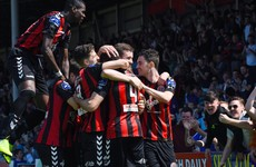 Bohs hit five to secure Dublin derby bragging rights