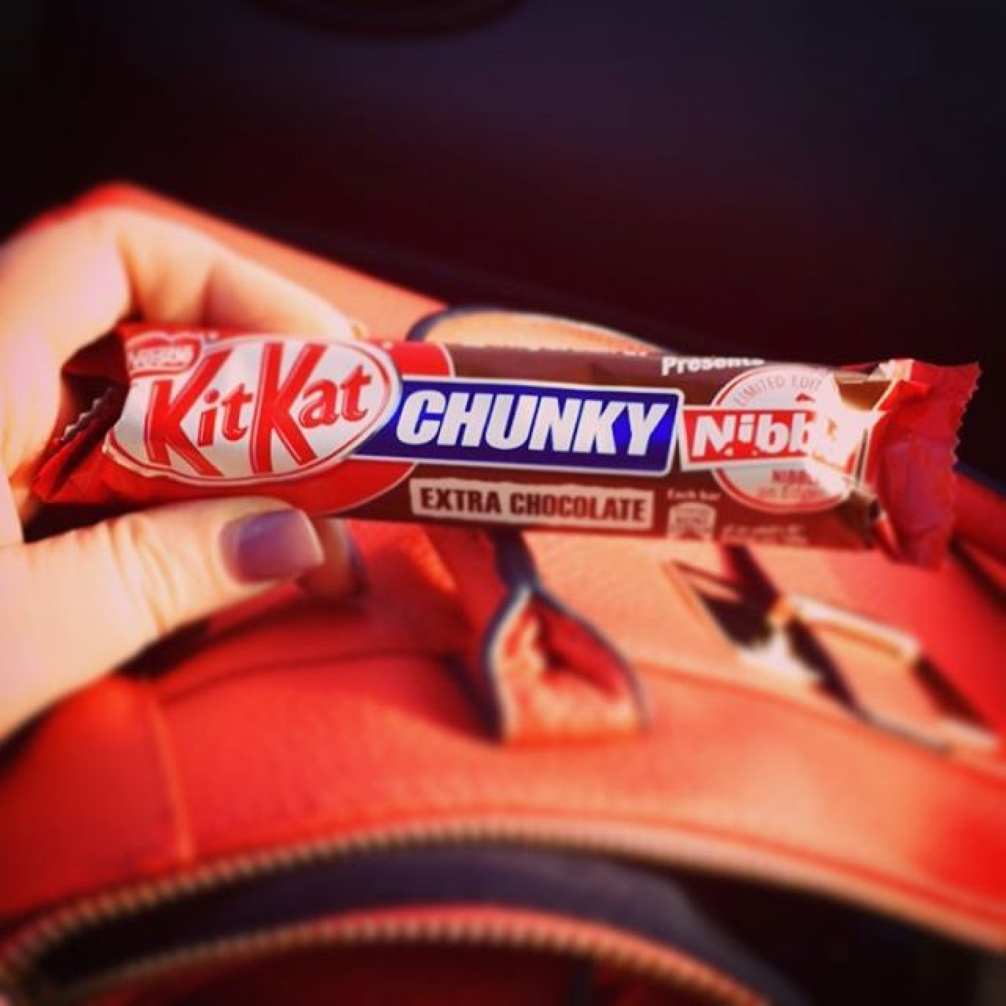 Kit Kat has made a special bar for people who love to nibble off the chocolate