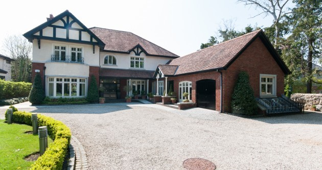 A gorgeous Foxrock mansion with its own granny flat is on the market