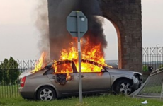 Firefighters had a busy day dealing with car fires in Dublin