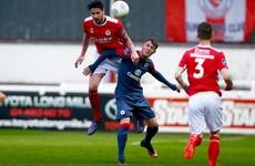 Ireland U21 midfielder Sadlier named in our League of Ireland Team of the Week