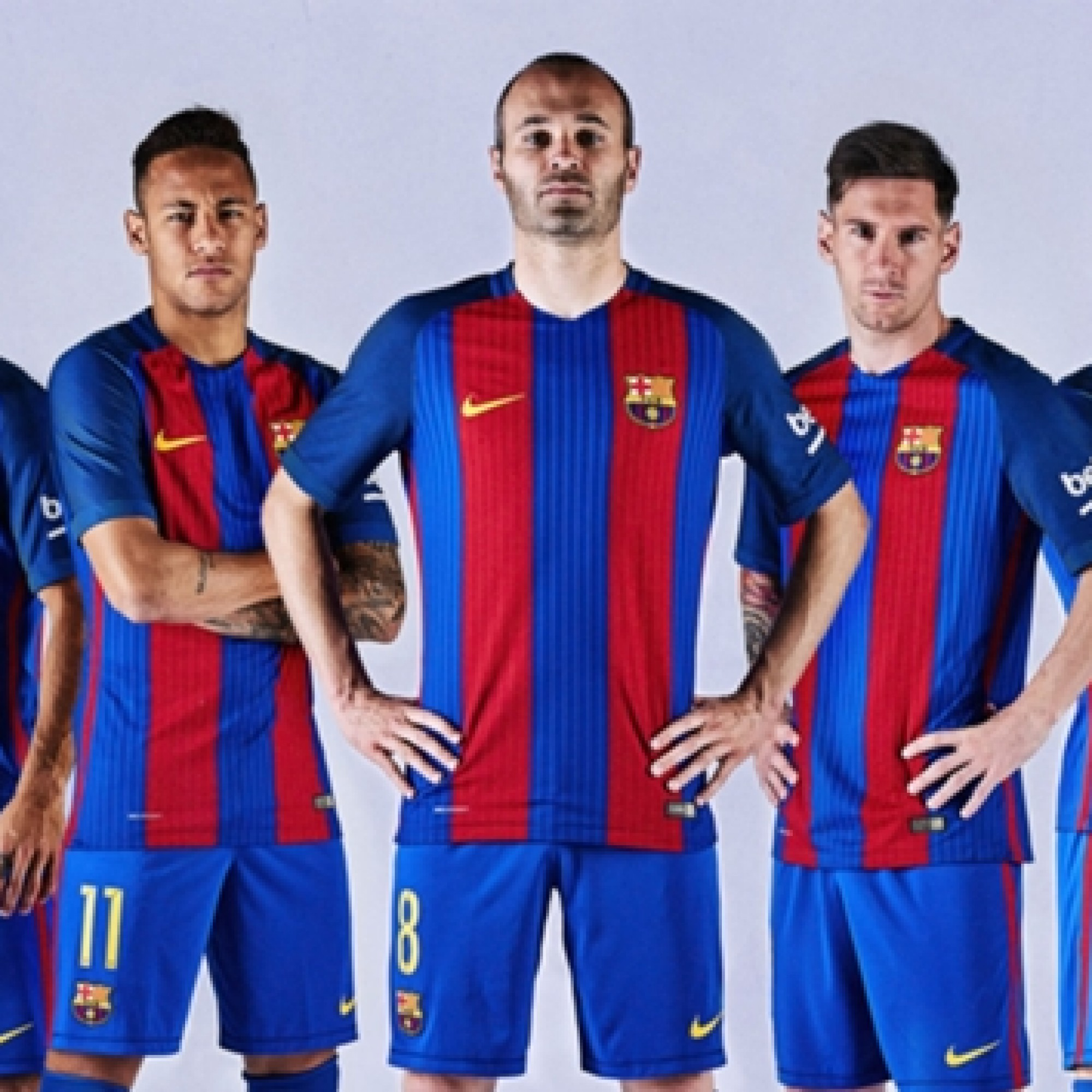 The stripes are back! Barcelona revert to tradition with retro-tasty new kit