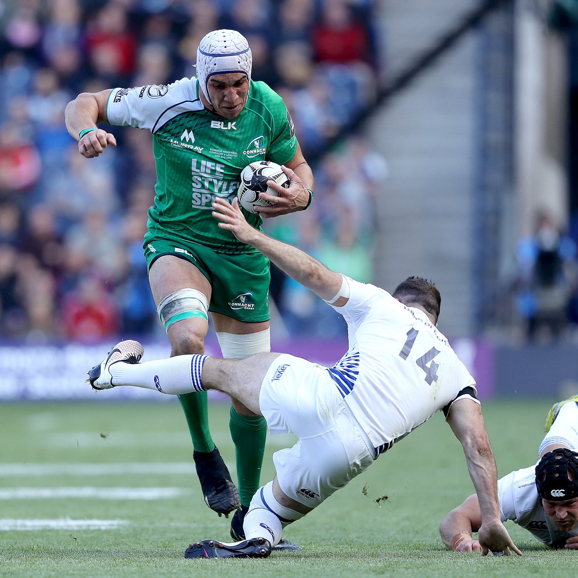 Dillane excited to front up to Boks after Connacht's Pro12 glory