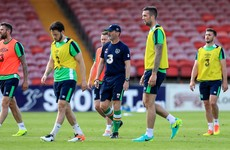 Where exactly are the remaining places up for grabs in Ireland's Euro 2016 squad?