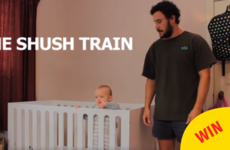 This dad's hilarious video about getting his baby to sleep is going super viral on Facebook