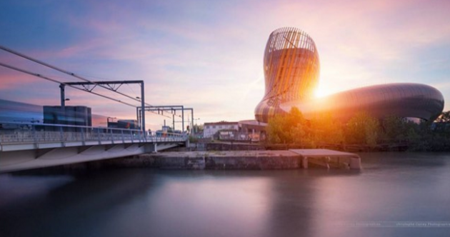 There's a ten-storey wine theme park opening in France tomorrow
