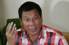 "Philippine president says journalists ""are not exempted from assassination, if you're a son of a b***h"""