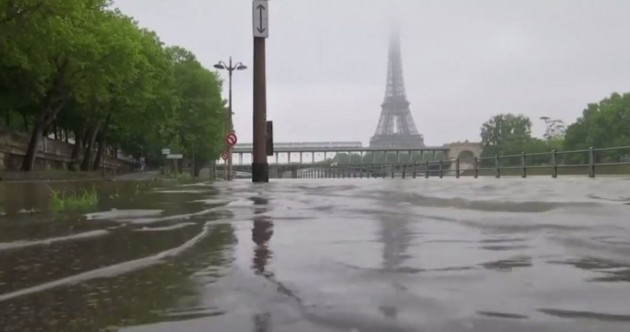 Five killed in France and Germany as some areas endure worst flooding in a century