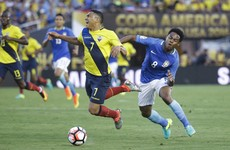 Brazil make underwhelming Copa America start against Ecuador