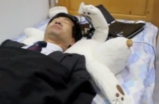 Video: How to stop snoring... with the help of a robotic bear