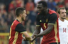 VIDEO: All the goals as Ireland's upcoming opponents Belgium win thriller