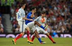 Ronaldinho shows he's still got it with outrageous double nutmeg at Soccer Aid