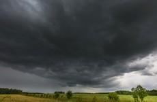 Orange alert: A thunderstorm warning just kicked in