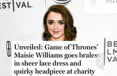 This Game of Thrones actress brilliantly rewrote a Daily Mail headline about her