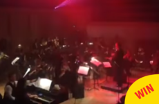 This orchestra did a surprise cover of Darude's Sandstorm and the crowd went wild