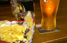 The 'crisp rule' is the most important piece of Irish pub etiquette