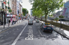 Man arrested after stabbing in Dublin city centre