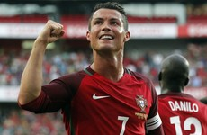He's back! Cristiano Ronaldo's brace helps Portugal send out word of warning to Europe