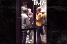 Justin Bieber was caught on camera starting a brawl outside a stadium... it's the Dredge
