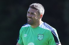 What are Ireland's alternative options if Jon Walters isn't deemed fit to start against Sweden?