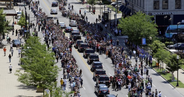 In Photos: Thousands line the streets for Muhammad Ali's funeral