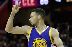 Curry lifts Warriors over Cavs to brink of repeat crown