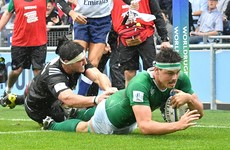 All the tries from Ireland U20s' history-making win over New Zealand