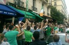 Hugs, hurling (and €7.50 pints): Our Saturday night out with the Irish fans in Paris