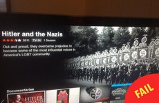 This Netflix glitch in a Hitler documentary is hilariously unfortunate