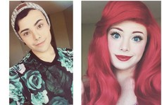 This man's amazing Disney Princess transformations are going super viral on Instagram