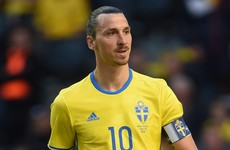Zlatan: 'The Ireland defenders lack pace? I'm also slow so it doesn't matter'