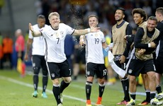 Returning Schweinsteiger seals opening win for world champions Germany