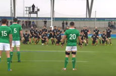 Ireland U20s fronted up to the haka in a unique way on Saturday - and it clearly worked