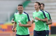 Walters named in Ireland's team to face Sweden at Euro 2016