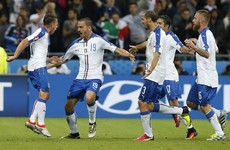 Giaccherini Golazo helps Italy to win over Belgium, control of Ireland's group