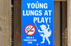 Smoking will soon be banned in most Irish playgrounds