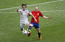 Tomas Rosicky sets incredible record for Czech Republic in Spain defeat