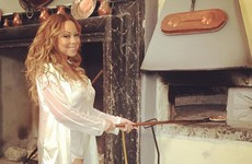 Mariah Carey regularly cooks dinner in her lingerie... the Dredge