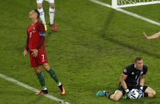 Cristiano Ronaldo slams Iceland for 'parking the bus'