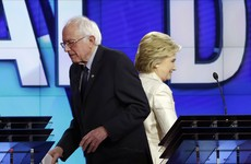 """Hillary and Bernie meet to discuss the """"dangerous threat"""" posed by Trump"""