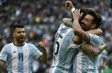 Argentina's first-half blitz sets up Copa quarter-final clash