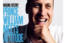 Prince William has posed for the cover of a gay magazine... It's the Dredge