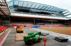 Liverpool ask Premier League for Burnley fixture switch as work on Anfield continues