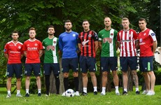Ireland's Euro 2016 stars go back to their roots and don the jerseys of their old League of Ireland clubs